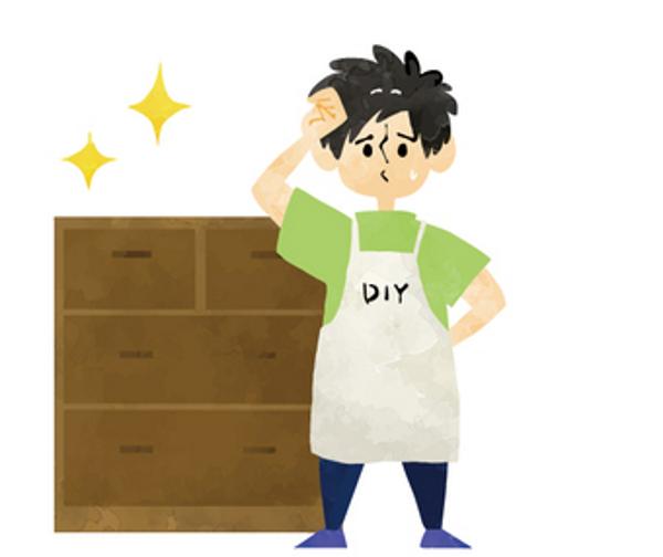 家具を補修する方法