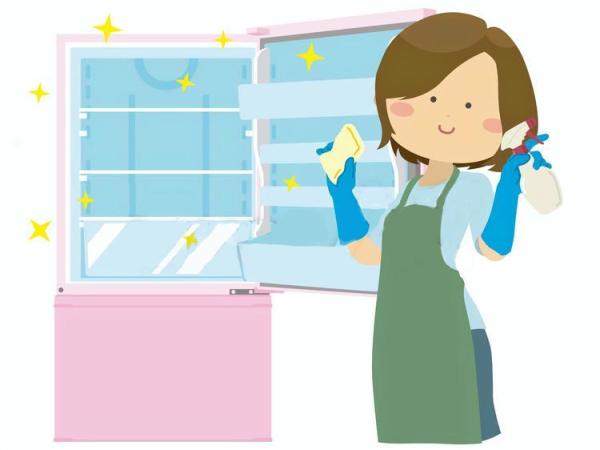 冷蔵庫の掃除方法