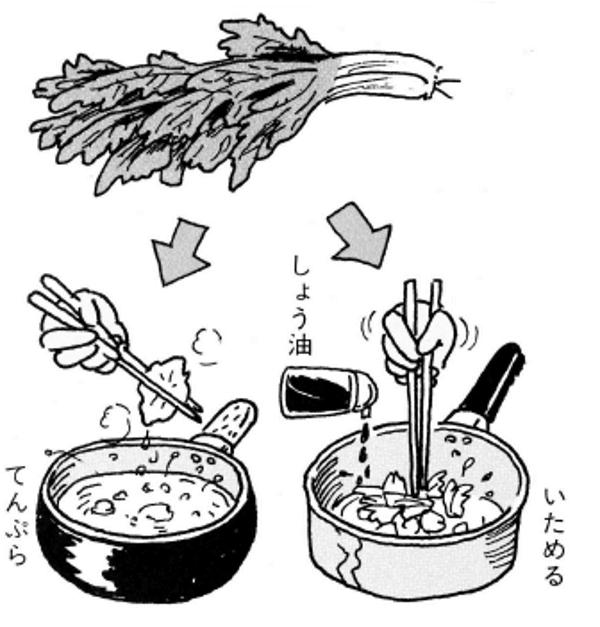 セロリの葉っぱレシピ