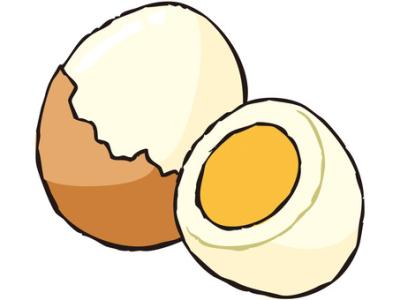 ゆで卵のきれいなむき方