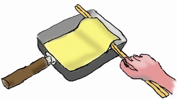 薄焼き卵の作り方のコツ